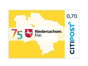 """Markenheft Standardbrief """"75 Jahre Niedersachsen"""" 0,70 €"""
