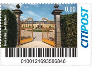 """Markenheft Kompaktbrief """"Herrenhäuser Gärten"""""""