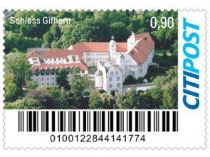 "Markenheft Kompaktbrief ""Schloss Gifhorn"""