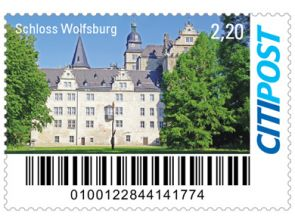"Markenheft Maxibrief ""Schloss Wolfsburg"""