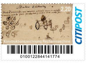 "Markenheft Maxibrief ""G.W. Leibniz"""