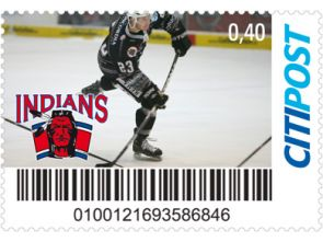"Markenheft Postkarte ""Indians"""