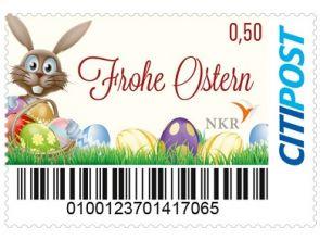 "Markenheft Standardbrief ""NKR Ostern"""