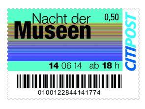 """Sondermarkenbogen """"Lange Nacht der Museen"""""""