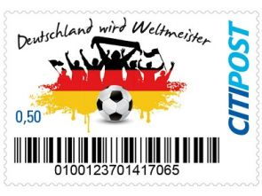 "Markenheft Standardbrief ""Fußball WM 2014"""