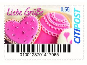 "Markenheft Standardbrief ""Valentinstag"""