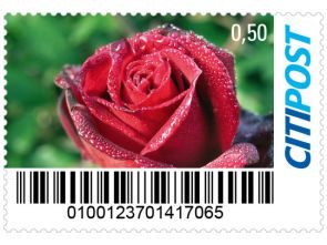 "Markenheft Standardbrief Penny ""Rose"""