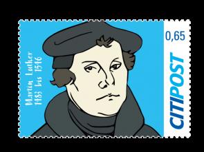 "Markenheft Standardbrief ""Martin Luther"" 0,65"