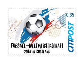 "Markenheft Standardbrief ""Fußball-WM 2018"" 0,65 €"