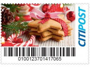 """Markenheft Standardbrief """"Weihnachten 2014"""""""