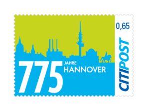 "Markenheft Standardbrief ""775 Jahre Hannover"" 0,65 €"
