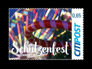 "Markenheft Standardbrief ""Schützenfest Hannover 2018"" 0,65 €"
