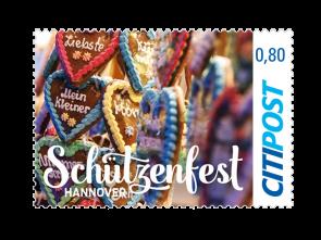 "Markenheft Kompaktbrief ""Schützenfest Hannover 2018""  0,80 €"