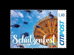 """Markenheft Großbrief """"Schützenfest Hannover 2018""""  1,40 €"""