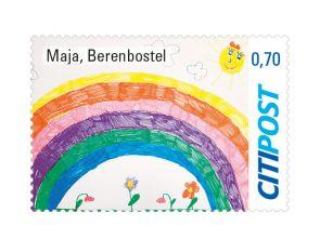 """Markenheft Standardbrief """"Regenbogen 2020"""" 0,70 €"""