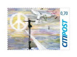 "Markenheft Standardbrief ""Friedensbotschaft 2020"" 0,70 €"