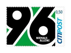 "Markenheft Postkarte ""Hannover 96"" 0,50 €"