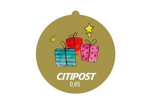 """Markenheft Standardbrief """"Weihnachten 2018"""" 0,65 €"""