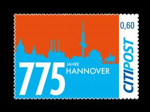 "Markenheft Standardbrief ""775 Jahre Hannover"""